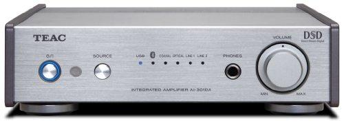 Teac AI-301DA-SV Pre-Main Amplifier with Bluetooth USB and DAC (Silver)