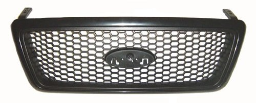 Sherman Replacement Part Compatible with Ford F-150 Grille Assembly (Partslink Number FO1200415)