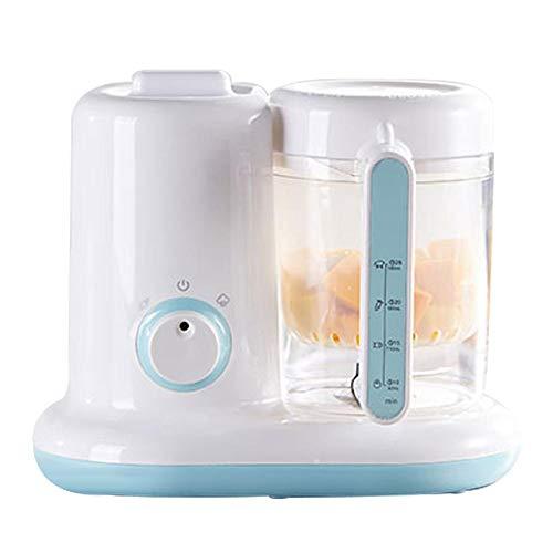DEQUATE Babynahrungszubereiter - Babynahrung Hersteller, BPA Frei, Baby Küchenmaschine(Dampf, Rühren, Erhitzen) - - 1100ml