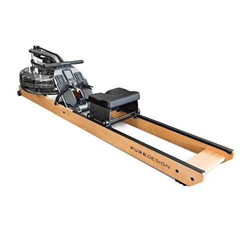Water Rower Remo Pure Design VR2 - Fabricado en Acero y Aluminio Remo de Agua - Peso Máximo Usuario: 120kg ✅