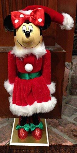 Disney Parks Minnie Mouse Kerstmis vakantie decoratieve notenkraker