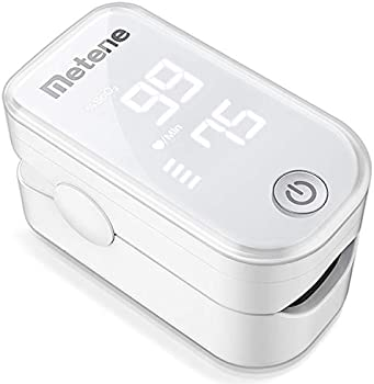 Metene Pulse Oximeter Fingertip Blood Oxygen Saturation Monitor