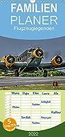 Flugzeuglegenden - Familienplaner hoch (Wandkalender 2022 , 21 cm x 45 cm, hoch): Historische und aktuelle Flugzeuge (Monatskalender, 14 Seiten )