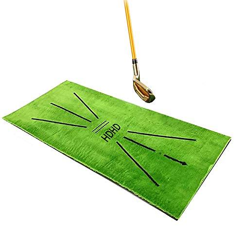 HDHD Golf Mat Swing Detection Strike Mini Practice Training Ayudas Juego De Análisis Y Corrige Tu Recorrido De Swing 12x24in