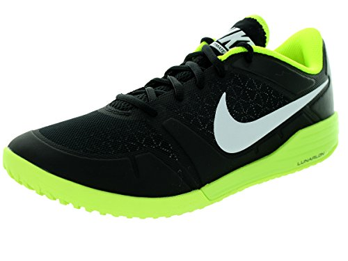 Nike Men's Lunar Ultimate Tr Black/White/Volt Training Shoe 11.5 Men US