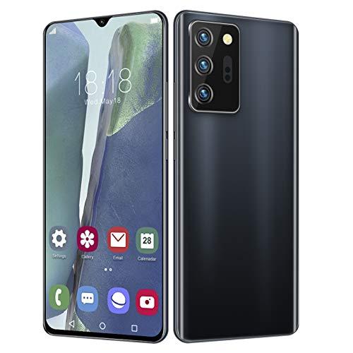 BTER Smartphone Desbloqueado, teléfono Celular con Doble SIM de Pantalla HD de 6.26'con 12 + 512GB, 13MP + 16MP, batería de 4800Mah, teléfono móvil con desbloqueo Facial para Android 10(EU)
