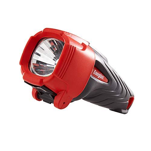 Energizer Lampe Torche à LED, Impact Rubber, Piles Incluses