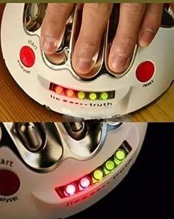 Canyita ポリグラフテスト 調節可能 電動ショックライ検出器 多グラフ 大人ゲーム 真実 ショッキングライア