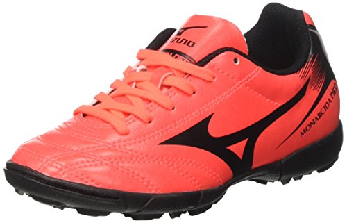 Mizuno Monarcida Neo AS Jnr, Scarpe da Calcetto Unisex – Bambini, (FieryCoral/Black), 38 EU