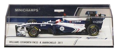 PMA 1/43 Williams Cosworth FW33 2011 # 11 (japan import)