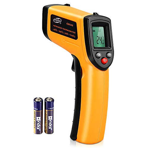 -50°C bis 380°C with LCD Digitale Laser Infrarot Thermometer Pyrometer