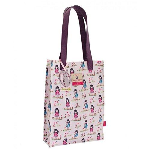 Gorjuss Pastel Print Ladybird Shopper Bag