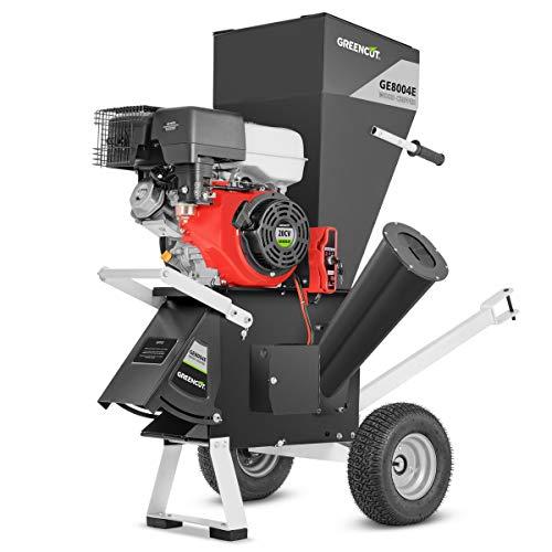 Mchaus GE180XE GREENCUT-Biotrituradora de Ramas Motor Gasolin