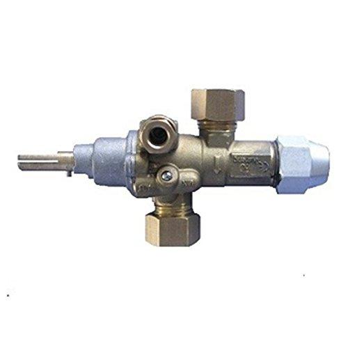 EARTH STAR Gas-Kochgerät Flam Ausfall Gasventil / Catering Equipment Ventil mit Muttern und Oliven Aktionspreis
