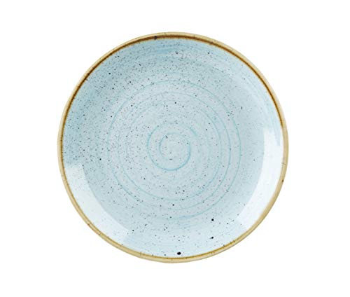 Churchill Stonecast -Coupe Plate Teller- Durchmesser: Ø32,4cm, Farbe wählbar (Duck Egg Blue)