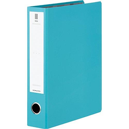 コクヨ ファイル チューブファイル NEOS A4 50mm 2穴 ターコイズブルー フ-NE650B