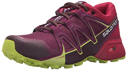 Salomon Speedcross Vario 2, Calzado de Trail Running para Mujer, Morado (Dark...