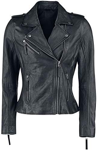 Black Premium by EMP All Over The Road Frauen Lederjacke schwarz XL 100% Leder Basics, Biker