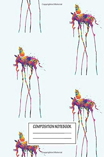 Notebook: Dali Elephant , Journal for Writing, Size 6