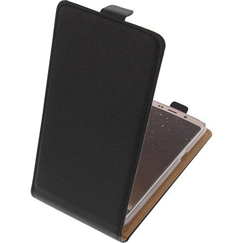 foto-kontor Tasche für Bluboo S8 Flipstyle Schutz Hülle Handytasche schwarz