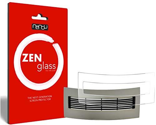 ZenGlass Flexible Glas-Folie kompatibel mit Jura J95 Tropfblech Panzerfolie I Display-Schutzfolie 9H
