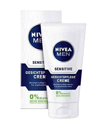 NIVEA Men, 6er Pack Gesichtspflege Creme für Männer, 6 x 75 ml Tube