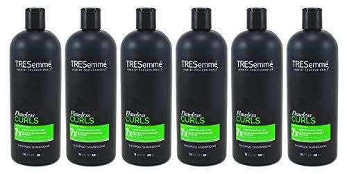 Tresemme Shampooing 825 ml Flawless boucles avec la vitamine B1 (pack de 6)
