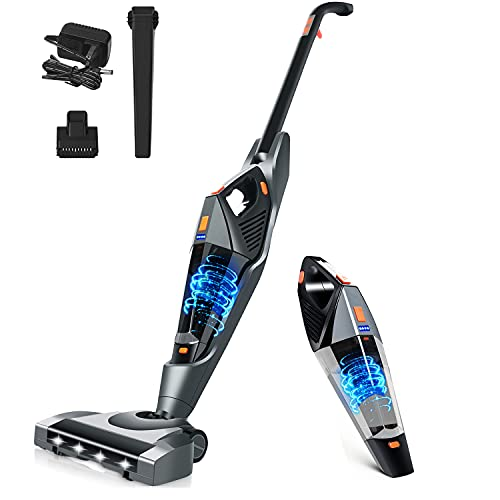 Stick Vacuums Cordless-Vacuum Cleaner-Lightweight-Powerful Floor-Cleaning - 2 in 1/ 16kpa Wet Dry Handheld Vacuum with Washable HEPA Filter Portable for Home,Pet Hair,Carpet is $79 (20% off)