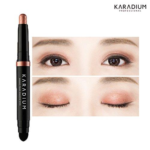 KARADIUM Shining Pearl Smudging Eye Shadow Stick, 1.4 g, #9 Rose Gold