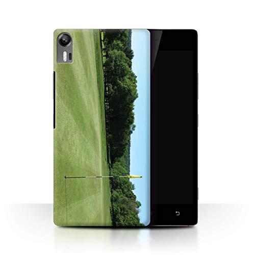Stuff4® Hülle/Hülle für Lenovo Vibe Shot/Z90 / Grüner Kurs Muster/Golfsport-Fan Kollektion