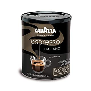 Lavazza Espresso Italiano Ground Coffee Blend, Medium Roast, 8-Ounce Cans,Pack of 4 (Packaging may vary) (B001EQ5ERI) | Amazon price tracker / tracking, Amazon price history charts, Amazon price watches, Amazon price drop alerts