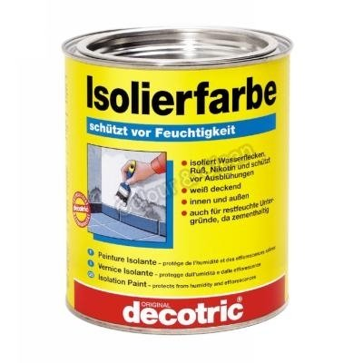 Decotric Isolierfarbe NEU OVP Inhalt: 2 Liter