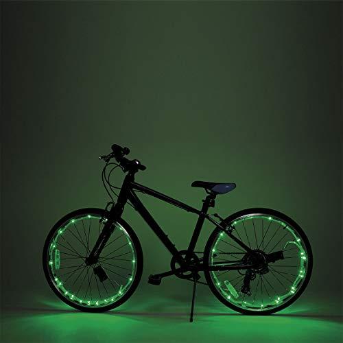 MoreLucky Heldere LED Bike Wheel Spaak & Frame Lights 2 Pack Ultra Heldere LED - Bike Wheel Light String - Verschillende kleuren Fietsband Accessoires