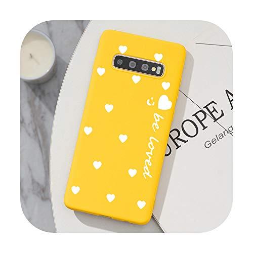 Hopereo Tpu Cover For Samsung Galaxy S20 Ultra Note 10 S10 Lite Pro 8 9 S8 S9 J4 J6 Plus 2018 J5 J7 2017 S6 S7 Edge S10E Love Heart Case-Khu99-Baixyouz-S10 Plus