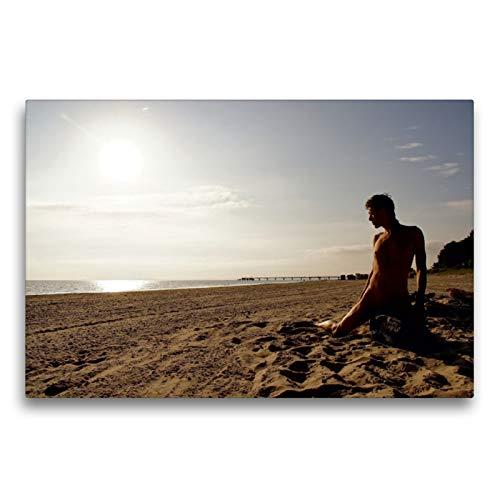 Premium Textil-Leinwand 75 x 50 cm Quer-Format Rise | Wandbild, HD-Bild auf Keilrahmen, Fertigbild auf hochwertigem Vlies, Leinwanddruck von nudio