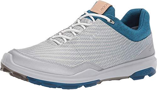 ECCO Biom Hybrid 3, Zapatillas de Golf para Hombre, Blanco (Blanco/Azul 000), 42 EU