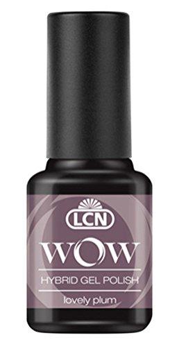 LCN WOW Hybrid Gel Polish WOW 28 lovely plum