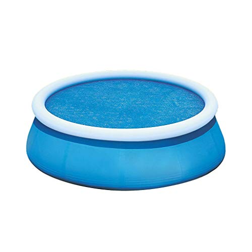 Round Pool Cover Poolabdeckplane Vinyl -Abdeckplane - Ø 12 Zoll- Pool Folie Poolinnenfolie Poolplane Solarabdeckung Swimmingpool Rundpool-Hülle Für Round Frame Pool Rundbecken