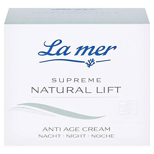 La mer Supreme Natural Lift Anti Age Cream Nacht 50 ml mit Parfum
