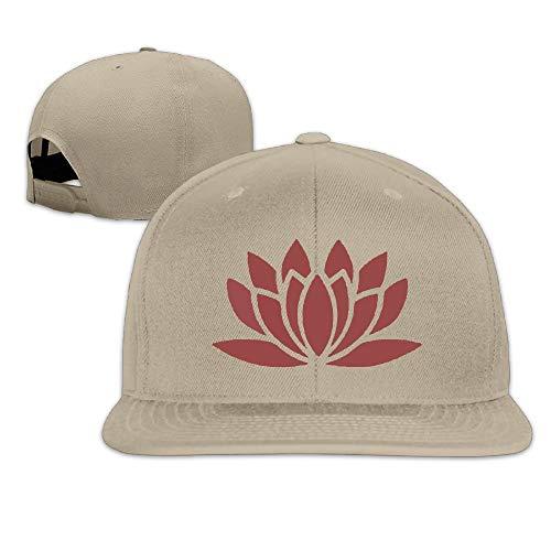 Lotus Flower Yoga Baseball Hats Men And Women Flatbrim Adjustable Fashion Hip-Hop Hat