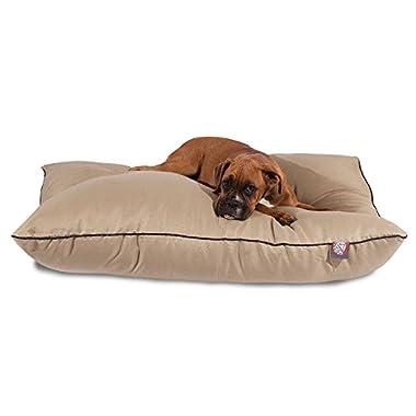 Majestic Pet 35x46 Khaki Super Value Pet Dog Bed Products Large