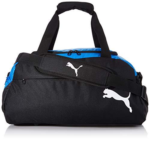 PUMA teamFINAL 21 Teambag S Bolsa Deporte, Unisex-Adult, Electric Blue Lemonade Black, OSFA