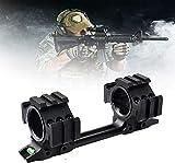 VULID Soportes de Alcance de la Pistola de Airsoft, Alcance de la Pistola de Caza, montajes de Alcance de la Pistola Docetail para 1 IN-1.2 en linternas Soporte de antorcha Alcance de