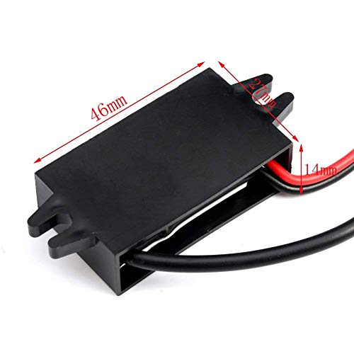 HOMREE DC 8-35V to DC 5V Step-Down Converter Buck Module 12V/24V to 5V 3A 15W USB Output Power Supply Charger (Type c USB)