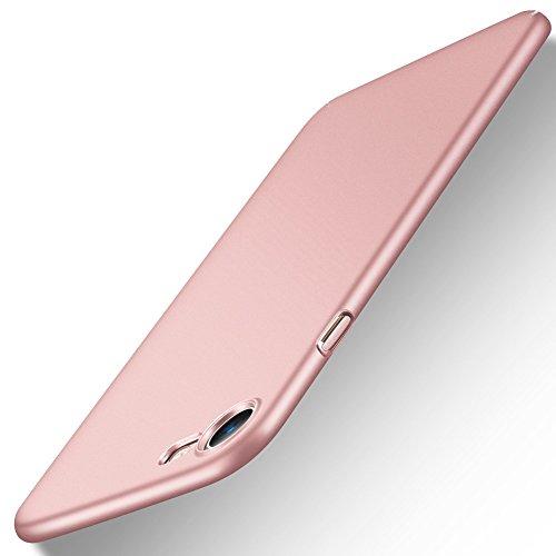 Custodia per iPhone 8/iPhone 7 in Plastica Dura PC (Oro Rosa)