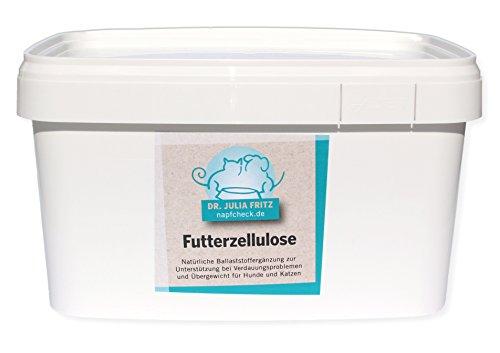 napfcheck Zellulose - bei Durchfall und Übergewicht - Hund & Katze - 2000 g