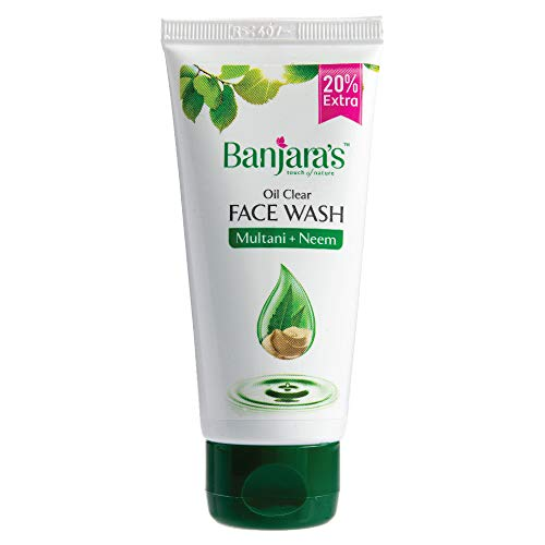 Banjara's Oil Clear Multani+Neem Herbal Face Wash 60 ml