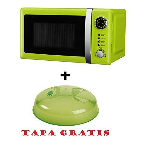 Microondas Jocel JMO001337, 20 L, 700 W, Verde+ tapa para micro gratis