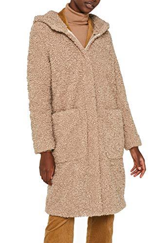 Preisvergleich Produktbild ESPRIT Damen 109Ee1G020 Mantel,  Beige (Beige 270),  Small (Herstellergröße: S)
