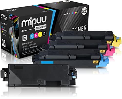 4 Mipuu cartucho de tóner compatible con Kyocera TK-5270 Negro Cian Magenta Amarillo para Ecosys M6630cidn M6230cidn P6230cdn M6230cidnt
